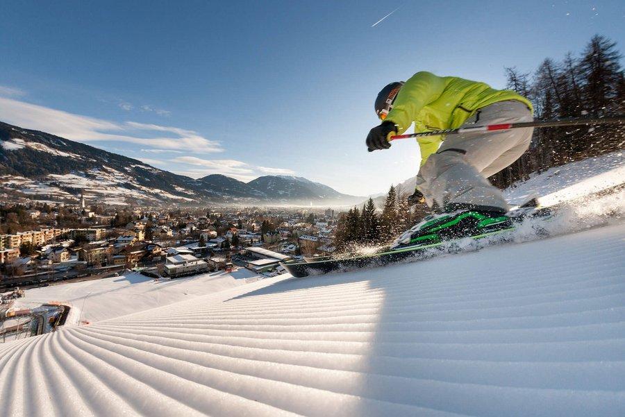 Skifahren Hochstein