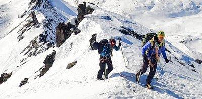 Gipfelflanke der Weißspitze in Prägraten