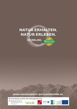 Nationalpark-Partnerbetriebe Osttirol
