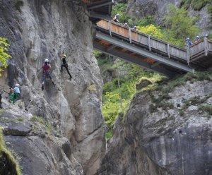 Klettersteigerlebnis Galitzenklamm