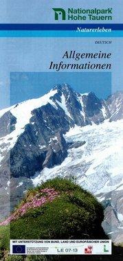 Nationalpark Hohe Tauern - Allgemeine Informationen