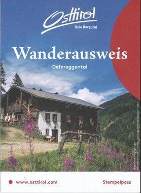 Wanderausweis Defereggental