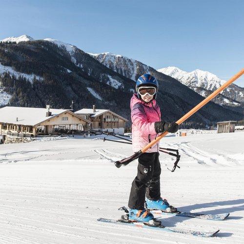 Ich lerne Skifahren, Familiensuiten klein